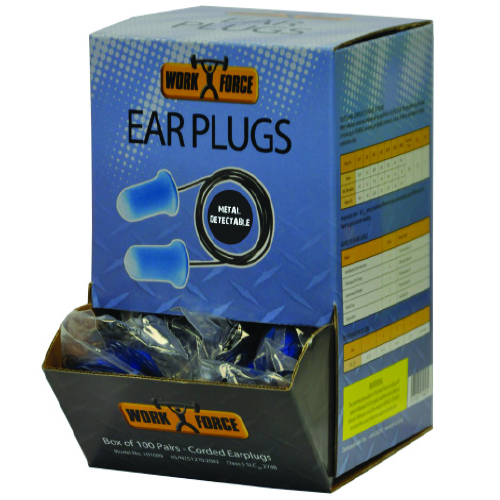 Safe-T-Tec: Metal Detectable Earplugs