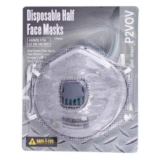 Safe-T-Tec: P2V OV Disposable Mask 3 Pack