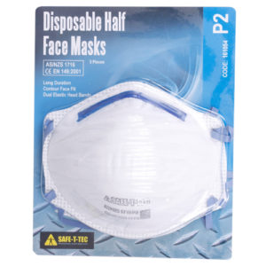 Safe-T-Tec: P2 Disposable Mask 3 Pack