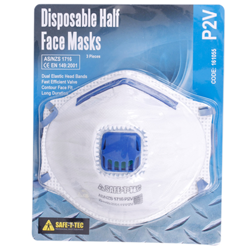 Safe-T-Tec: P2V Disposable Mask 3 Pack