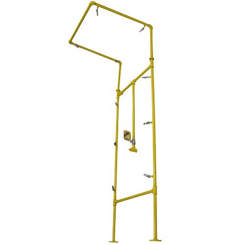 Safe-T-Tec: Acorn Multi Nozzle Emergency Shower
