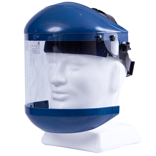 Safe-T-Tec: Face Shield with Chin Guard