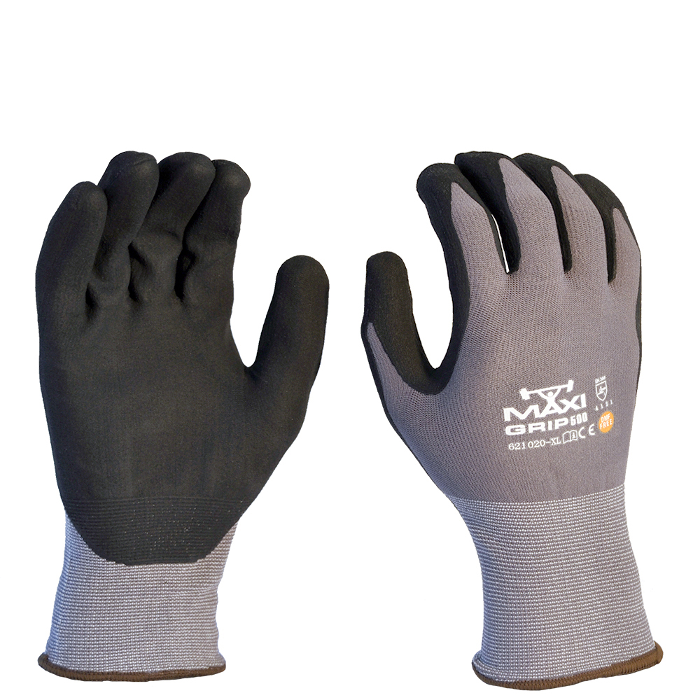 Safe-T-Tec: Maxi Grip - Palm Coated