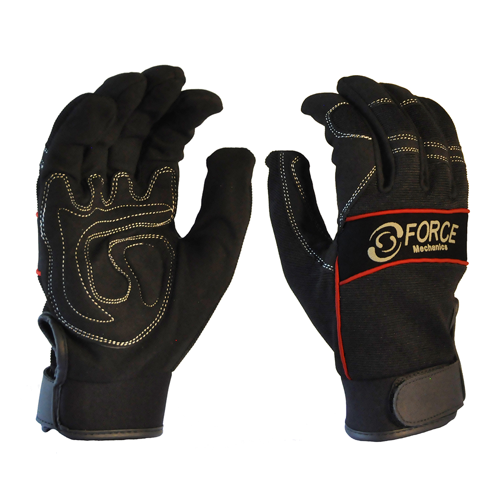 Safe-T-Tec: Full Finger Mechanics Gloves