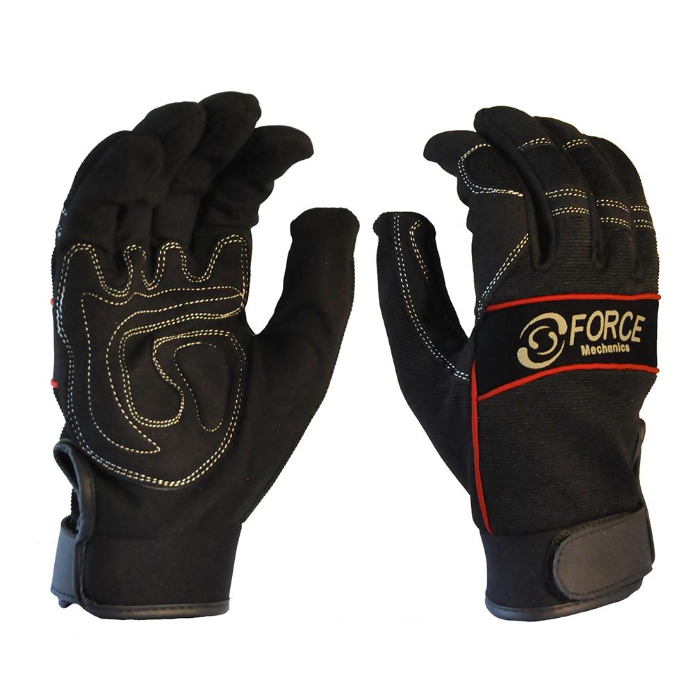 Safe-T-Tec: Full Finger Mechanics Gloves