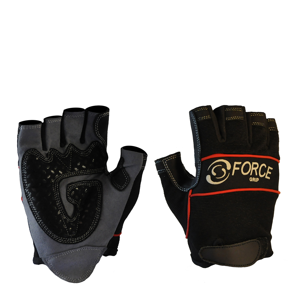 Safe-T-Tec: Fingerless Mechanics Gloves