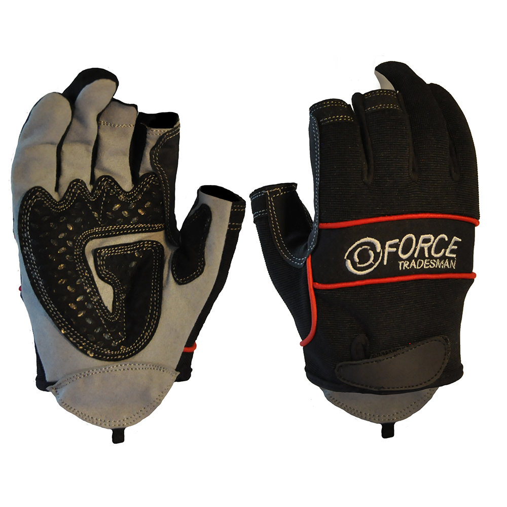 Safe-T-Tec: Two Finger Mechanics Gloves