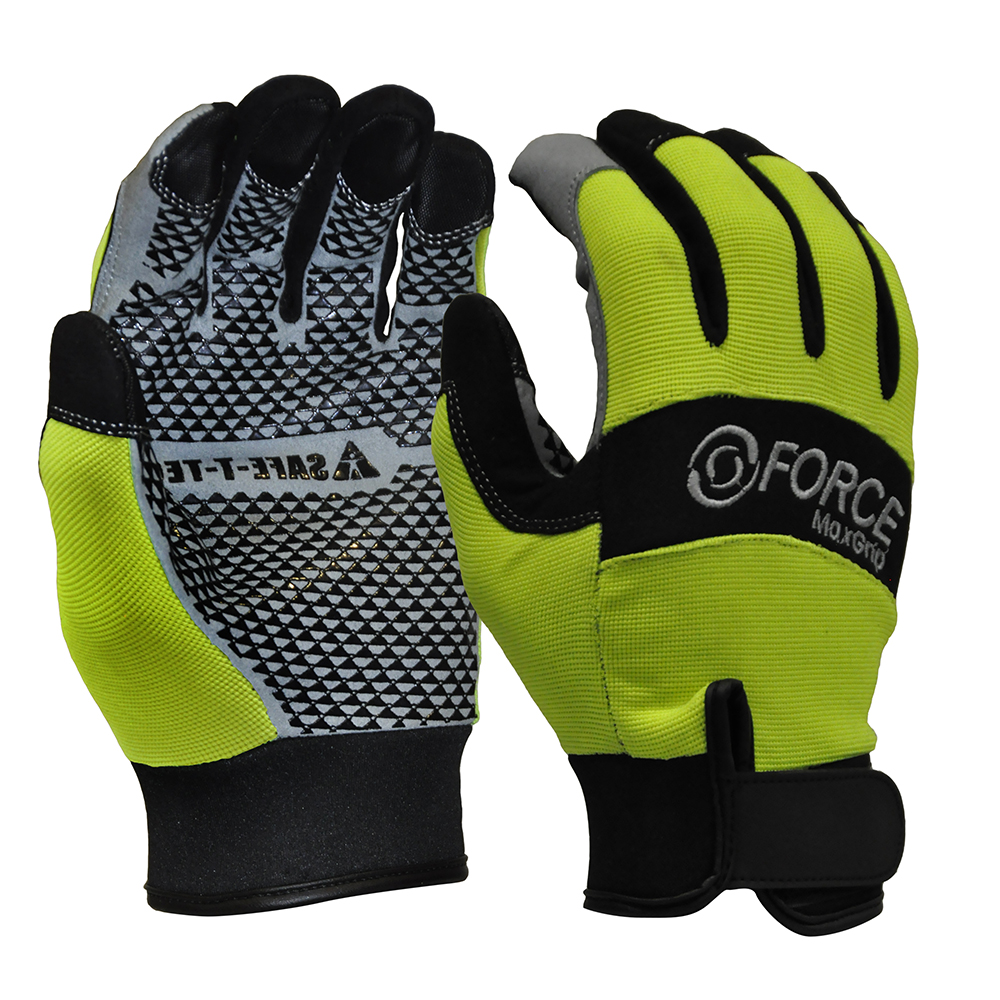 Safe-T-Tec: Mechanics Gloves Silicon Grip