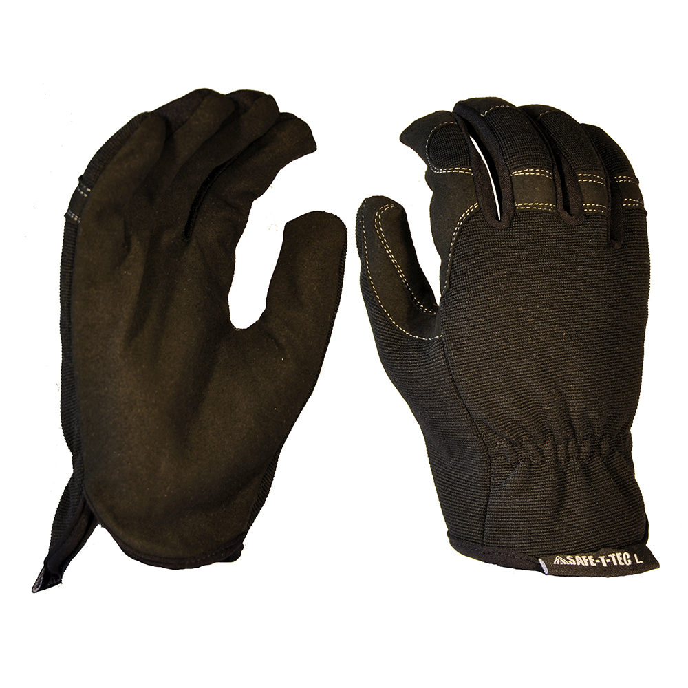 Safe-T-Tec: Synthetic Riggers - Black