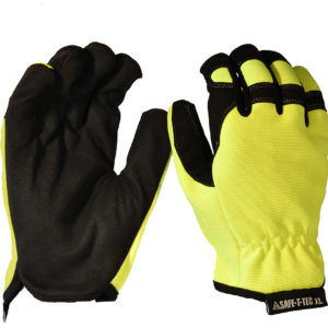 Safe-T-Tec: Synthetic Riggers - Hi-Vis