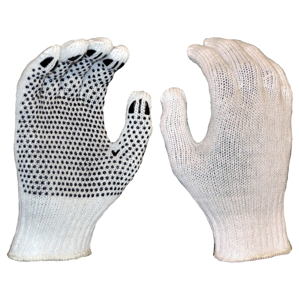 Safe-T-Tec: Polycotton Dotted Gloves