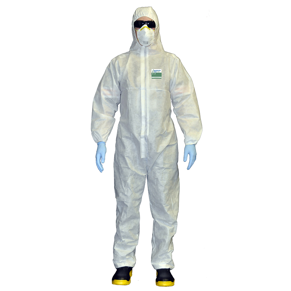 Safe-T-Tec: Barrier Tec 1000 Coveralls
