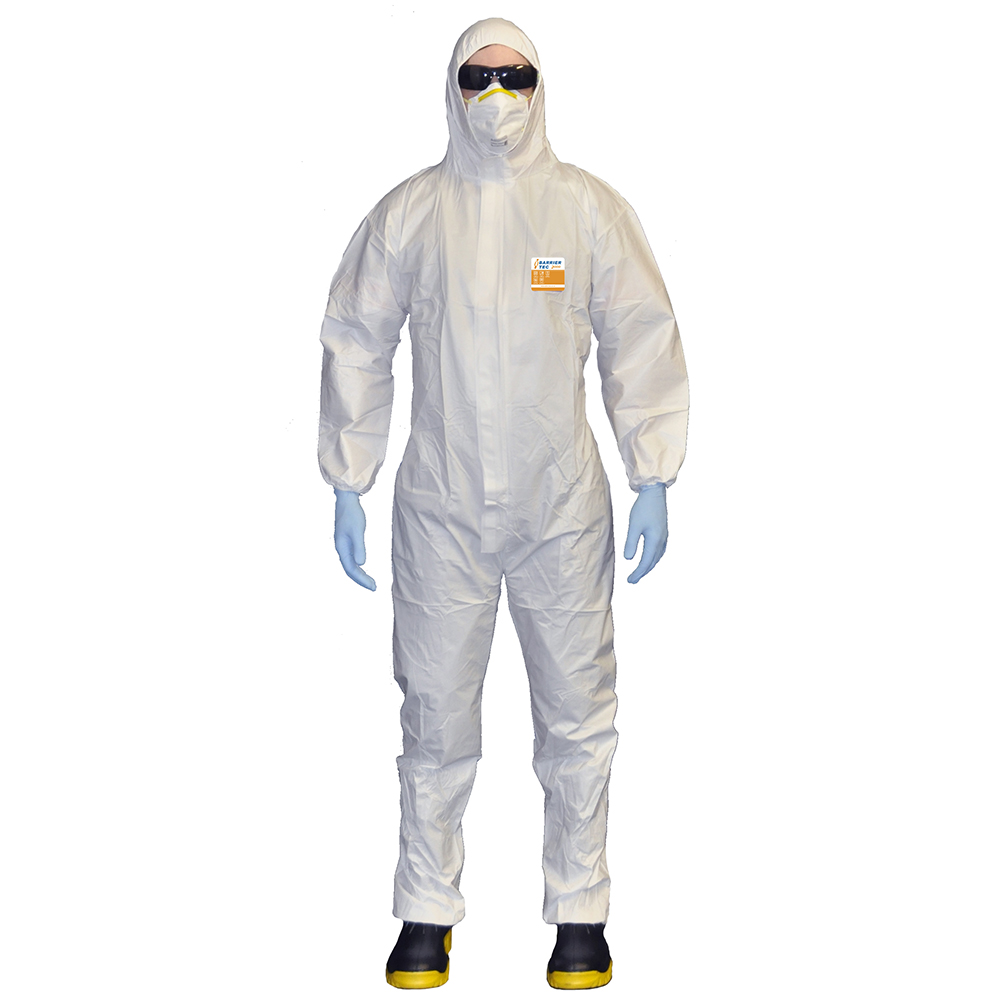 Safe-T-Tec: Barrier Tec 2000 Coveralls