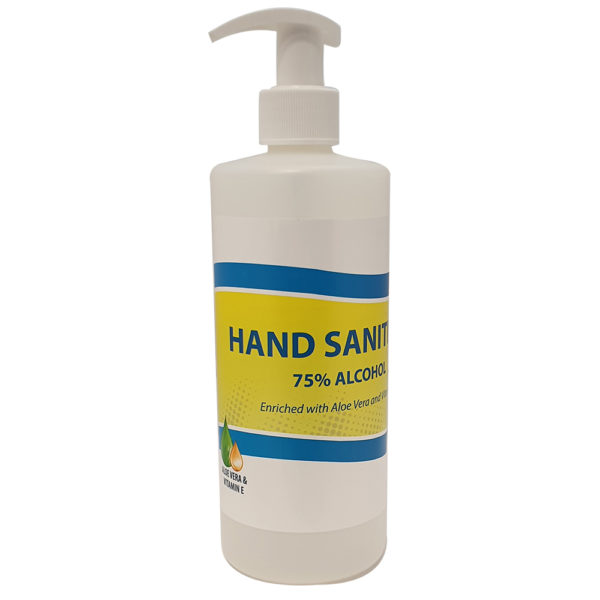 Hand Sanitizer 500ml Pump Bottle