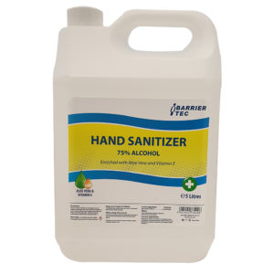 Hand Sanitizer Refill Bottle 5L