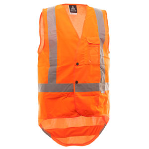 Safe-T-Tec: Domed Safety Vest D/N