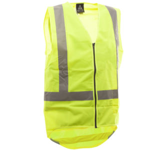 Day Night Vest Yellow No Pockets