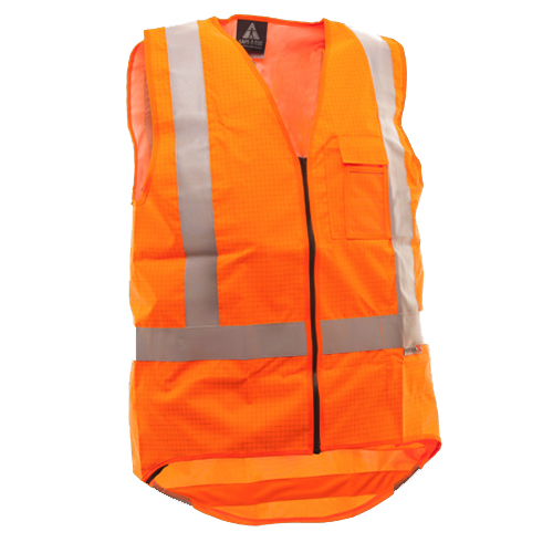 Safe-T-Tec: FR Safety Vest