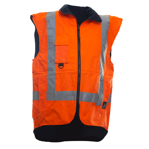 Safe-T-Tec: Long Sleeve Safety Vest