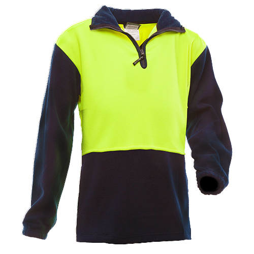 Safe-T-Tec: Polar Fleece Yellow/Navy