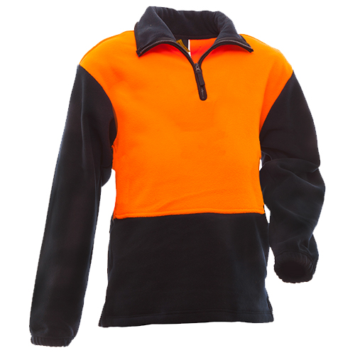 Safe-T-Tec: Polar Fleece Orange/Navy