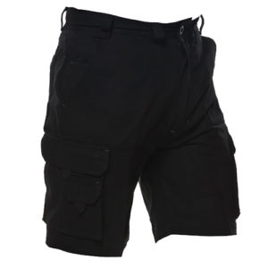 Safe-T-Tec: Industrial Cotton Shorts - Black
