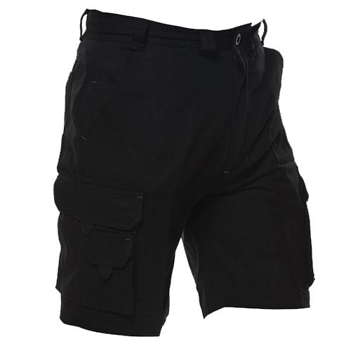 Safe-T-Tec: Industrial Cotton Shorts - Black