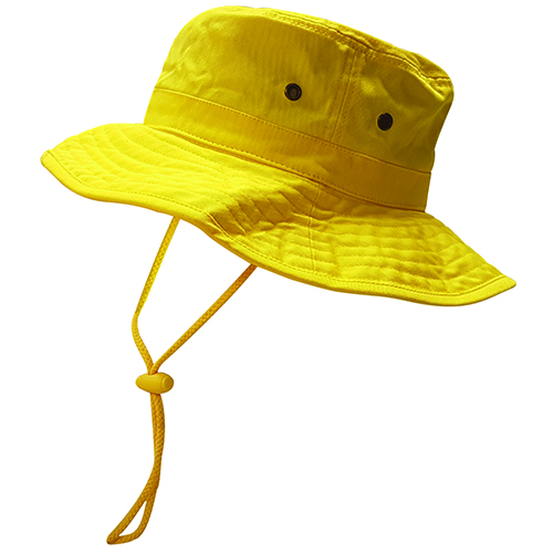 Safe-T-Tec: Sun Hat - Yellow