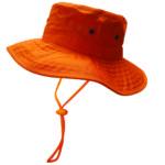 Safe-T-Tec: Sun Hat- Orange