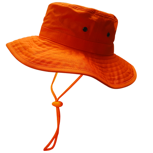 Safe-T-Tec: Sun Hat- Orange
