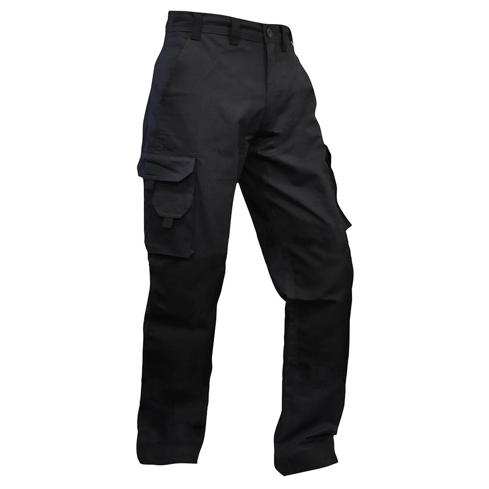 Safe-T-Tec: Rip Stop Cotton Pants - Navy