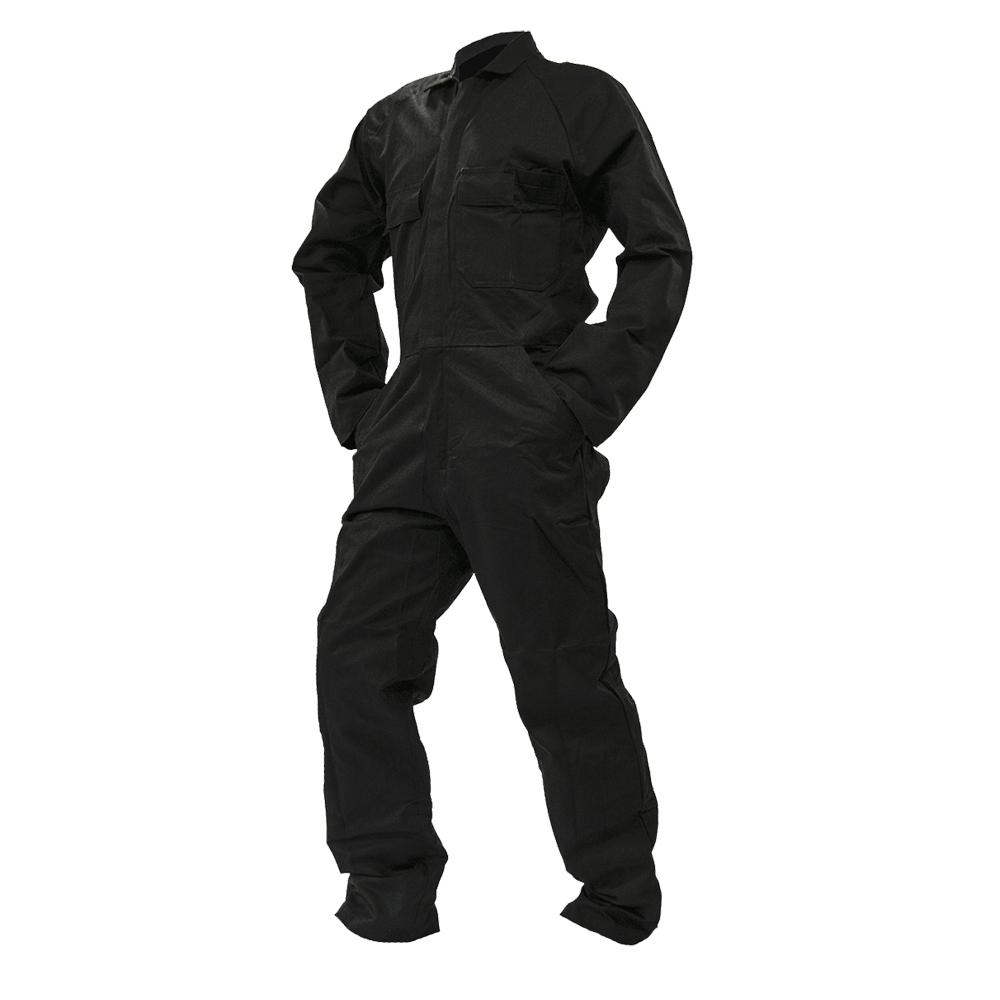 Safe-T-Tec: Black Overalls