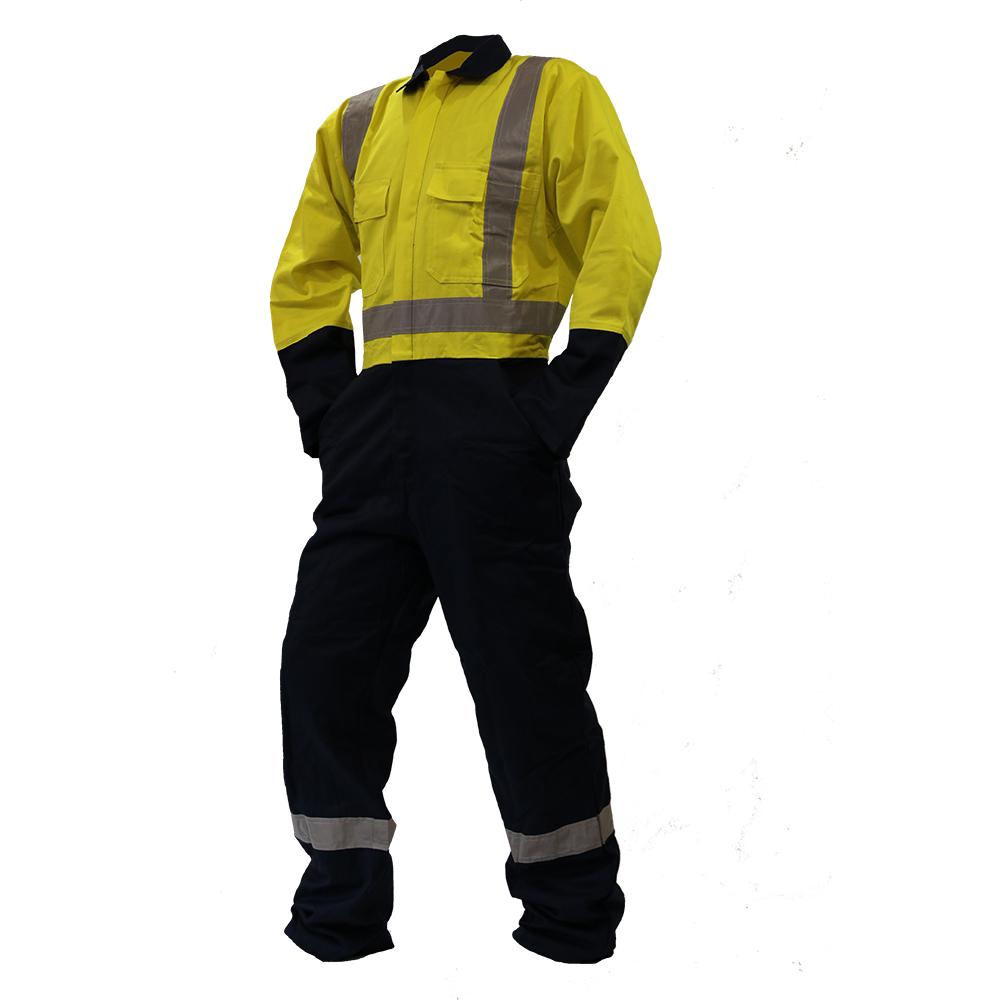 Safe-T-Tec: Yellow/Navy Day/Night Overalls