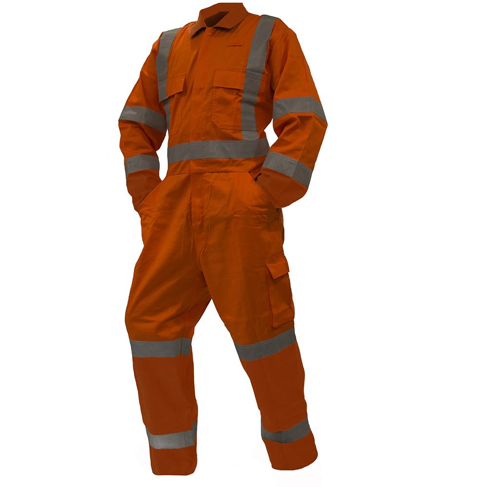 Safe-T-Tec: TTMC Overalls Orange